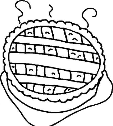 coloring page apple pie pin puzzle piece cake cake on pinterest