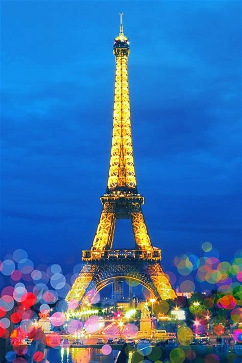 eiffel tower  paris france favethingcom