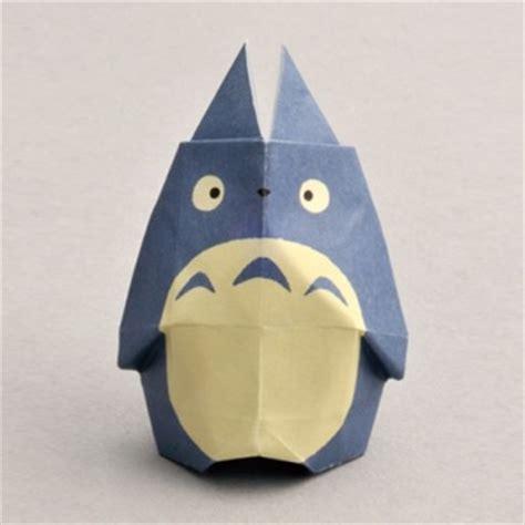 Origami Totoro - japanese origami 折り紙 punipunijapan