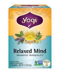 Relaxed mind yogi tea