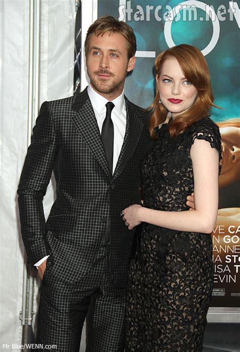 emma stone and ryan gosling photos emma stone at crazy stupid love world premiere