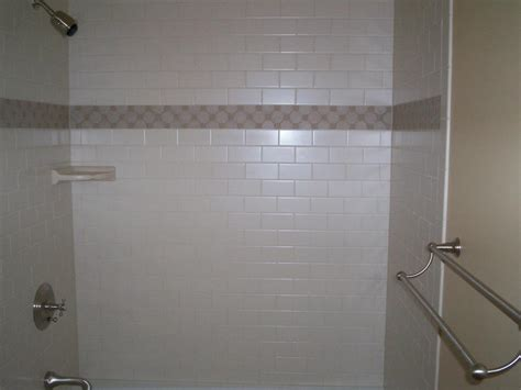 subway tiled shower from jrs quality tile hardwood in centre pa 16828
