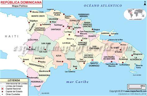 Mapa De Republica Dominicana   mapa de republica dominicana world of map