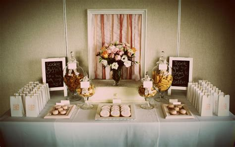 alternative wedding desserts cookie buffet