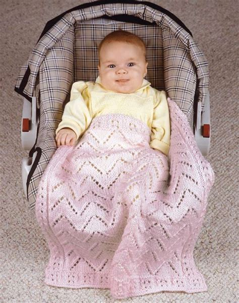 Knitted Car Seat Blanket by 331 Best Images About Knitting Baby Afghan On