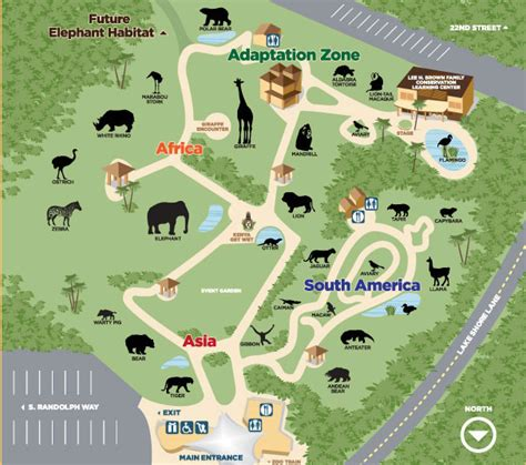 lincoln park zoo map park zoo list of major zoos in the u s wiki fandom powered by wikia