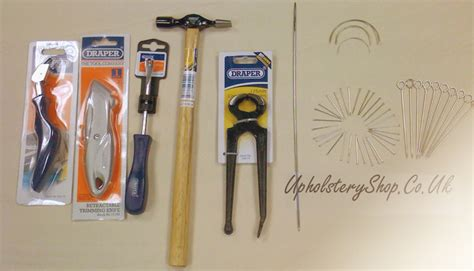 Furniture Upholstery Supplies A Upholstery Tool Kit Beginners Upholsteryshop Co Uk