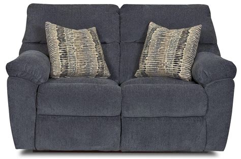 reclining pillow odessa casual power reclining loveseat with plush pillow