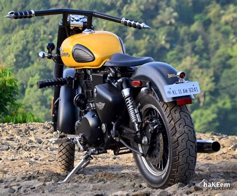 modified bullet modified royal enfield classic 350 india bullet mod