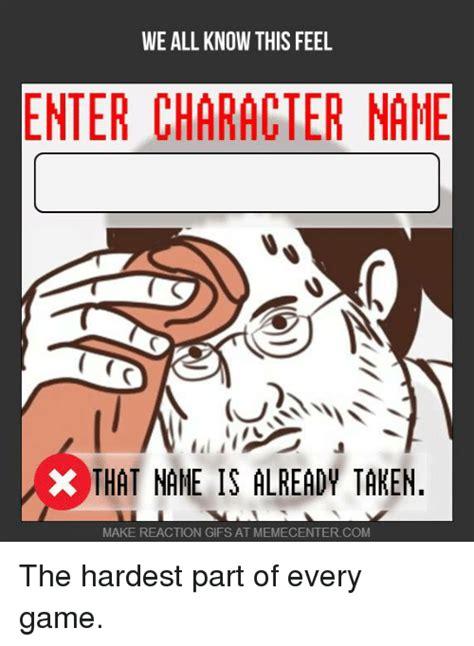 feel enter character