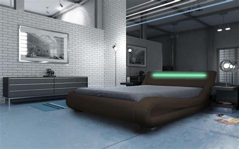 led bed madrid led bed brown modern designer beds