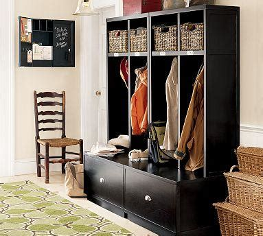 entryway furniture storage brady 4 open entryway suite pottery barn
