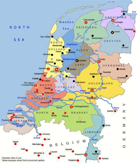 niederlande karte gemeinden