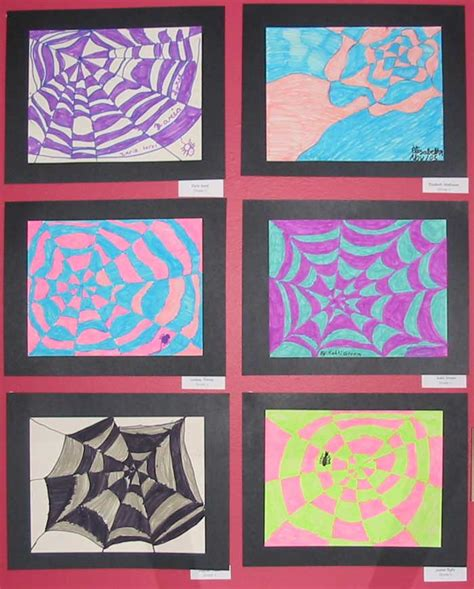how to teach pattern in art how to draw a spider web drawing art lessons for kids