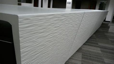 Reception Desk Vancouver Precast Reception Desk Of D Roc Ductal Concrete Vancouver