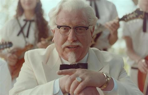 actors in kentucky fried chicken commercials darrell hammond s kfc commercial gets 1 1m views on