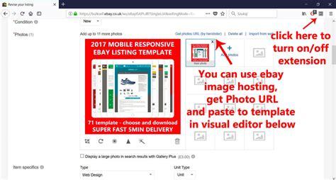 ebay store template tutorial tutorials ebay listing template ebay templates listing