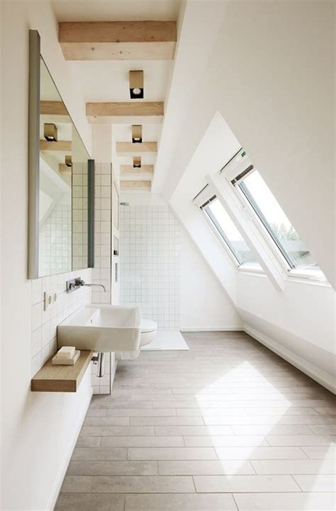 small attic bathroom ideas 35 functional attic bathroom ideas home design and interior