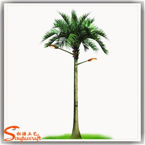 led solar outdoor tree lights outdoor led tree solar tree lights coconut palm tree view