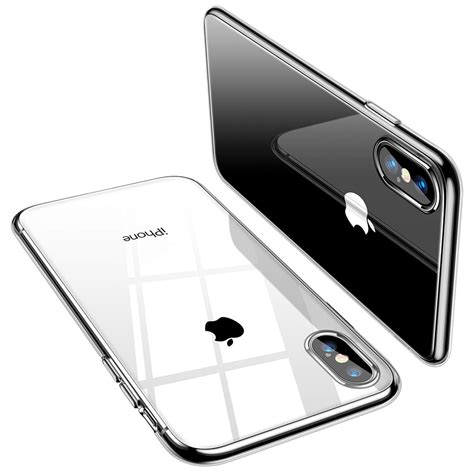 flexi thin gel for apple iphone xs max clear