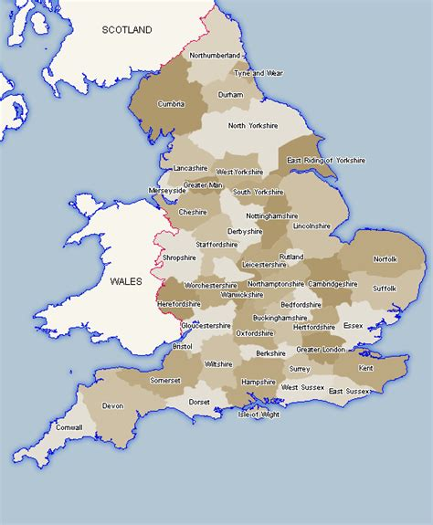 counties map maps of counties uk county map