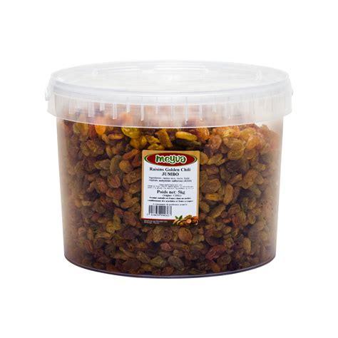 Golden Raisin Jumbo 500g raisin golden chili jumbo seau 5 kg