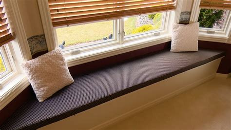 making a window seat bench how to make a window seat cushion youtube
