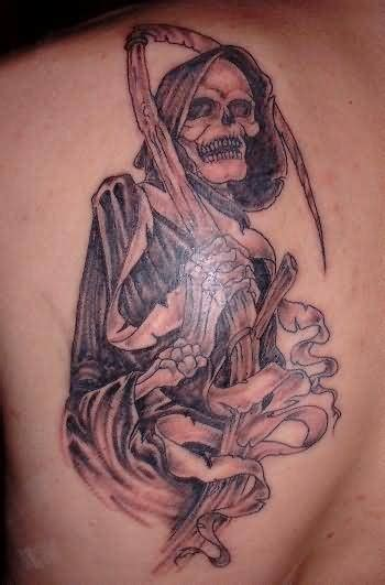full body grim reaper tattoo grim reaper tattoo images designs