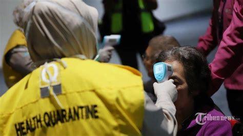 update korban virus corona   terjangkit
