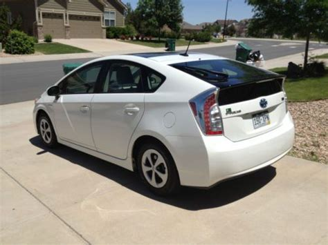 Toyota Solar Roof Sell Used 2012 Toyota Prius Package 4 Solar Panel Sun