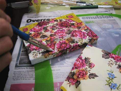 Decoupage For Beginners At Home - beginners decoupage workshop in nottingham the craft studio