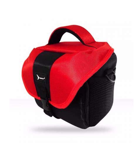 Egif Fancy Tas Kamera Mirorrless Merah egif eg 120