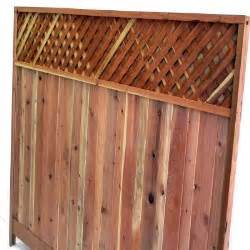 home depot wood lattice mendocino forest products 6 ft h x 8 ft w redwood