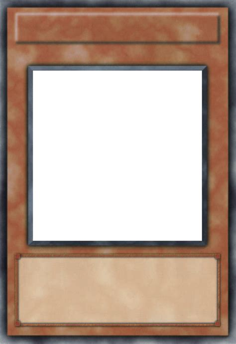 blank yugioh card template png yu gi oh ultra faithful card template by cylgom on