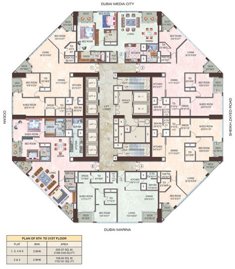 23 Marina Floorplans Dubai Properties Dubai Freehold House Floor Plans Dubai
