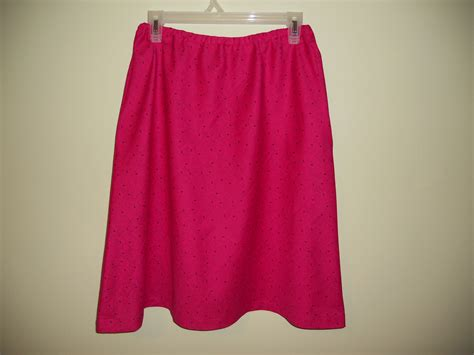 simple a line skirt with inset pockets sewing projects