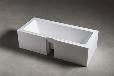 vasca makro undermount bathtub wave by makro design makrodesign