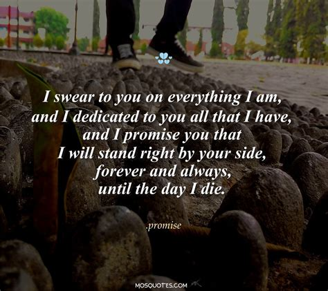 you promised forever and a day by clickk mee liked on polyvore cute emo love quotes i promise you that i will stand right