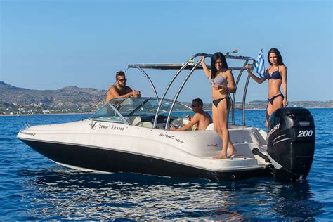 speed boat license kolymbia watersports rent a boat a speed boat with or