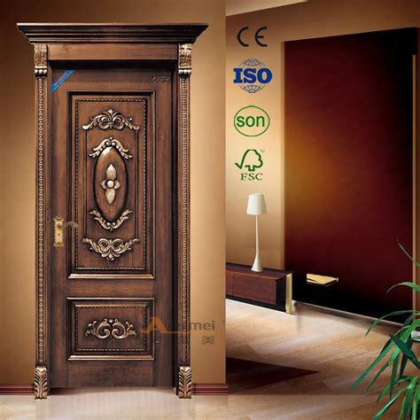door design wood kail solid wood