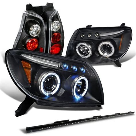 Brute Tools Mba by Check Price Toyota 4runner Black Halo Led Headlights