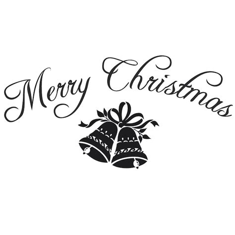 Dry Erase Wall Stickers merry christmas wall lettering trendy wall designs