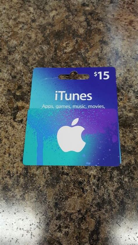 Apple Itunes Gift Card Balance - apple itunes gift card 15 card in hand ready to ship freeship like new buya