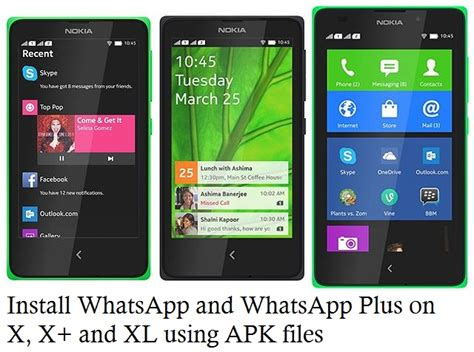 how to install whatsapp on nokia x x and xl using apk