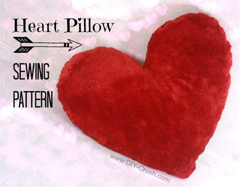 pattern for heart shaped pillow free valentine s heart pillow sewing pattern heart