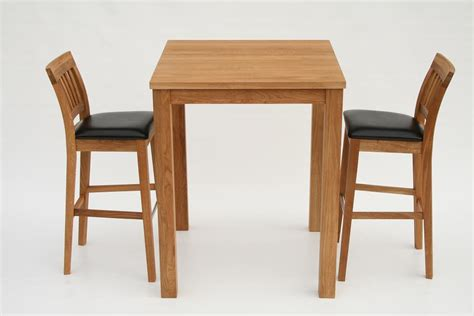 Oak Breakfast Bar Stools by Solid Oak Bar Breakfast Table 2 Java Stools 163 25 Ebay