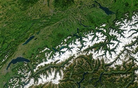 Misadventure In The Alps Part I by Geography Of Switzerland