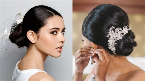 Wedding Hairstyles Low Buns by Low Bun Wedding Hairstyles 2017 Hairdrome