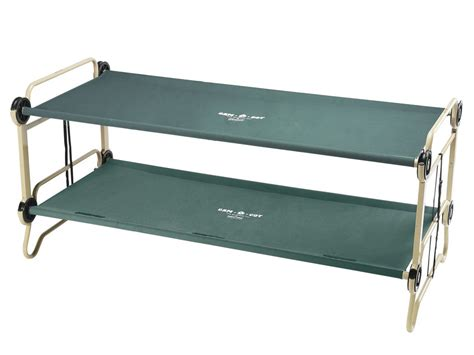 bunk bed cot disc o bed cam o bunk xl portable bunk bed cot review