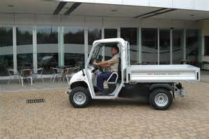 Electric Vehicles Utilities Electric Utility Vehicles With Cargo Bed